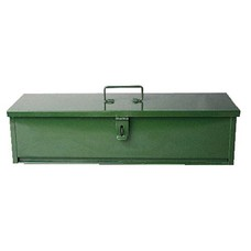 TOOLBOX-GREEN 5x6x20 STEEL NEW BIG 20 INCH SIZE UNIVERSAL TRACTOR TRAILER IMPLEMENT